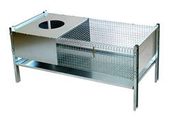 Käfig für Kükenhaltung mit Vorrichtung für Wärmelampe /5024