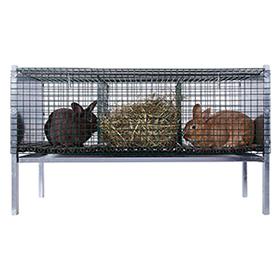 Mastkäfig für Kaninchen / 5061